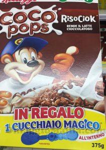 cucchiaio magico Kellogg's con RisoCiok
