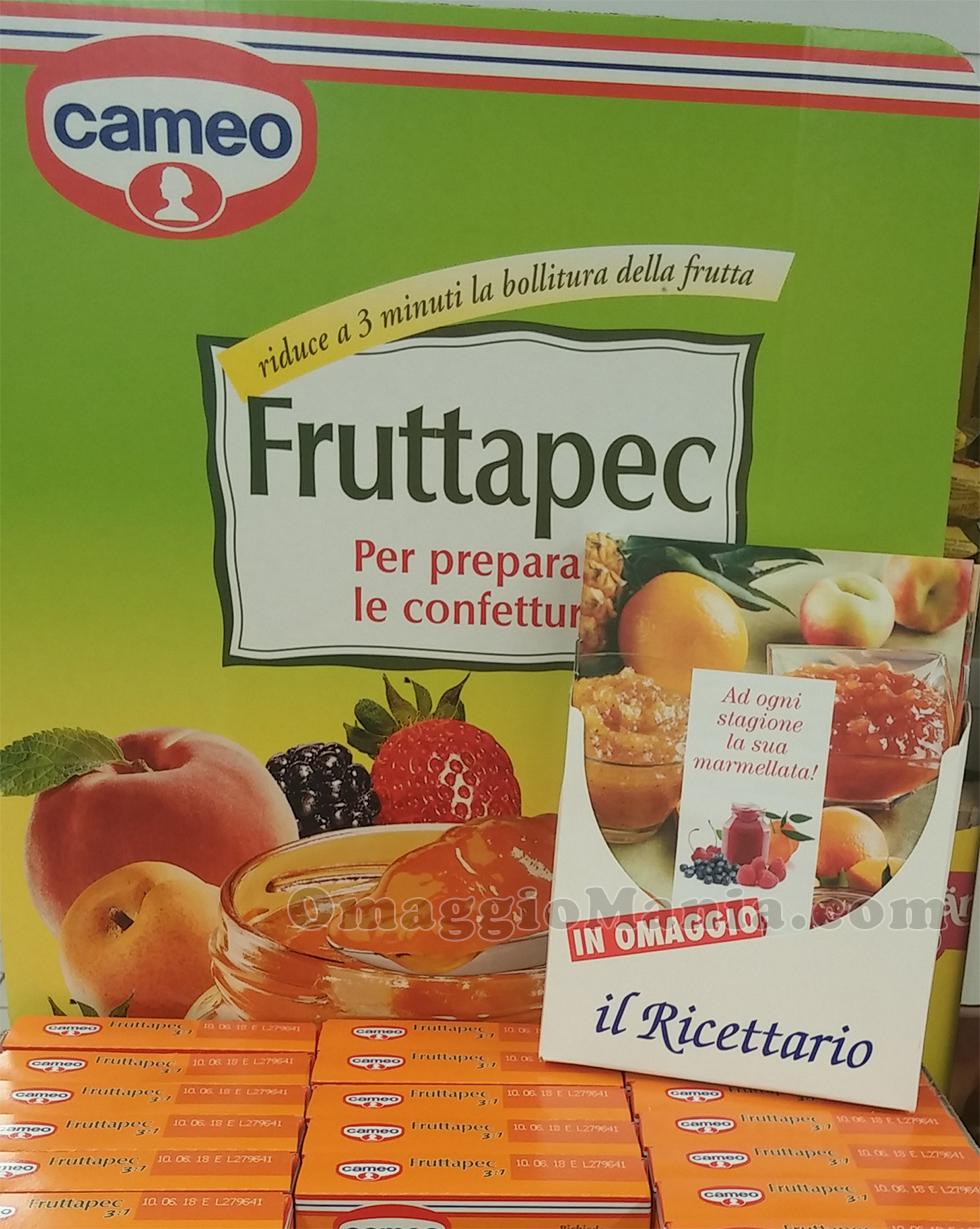 espositore ricettario Cameo Fruttapec di Katia