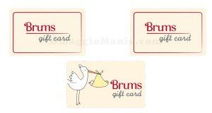 gift card Brums