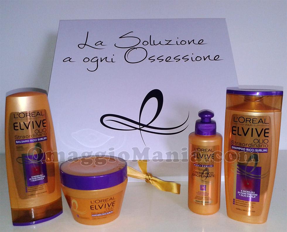 kit L'Oréal Elvive Ricci Sublimi di Stefy