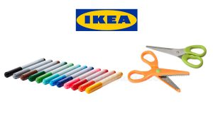 kit omaggio ritaglia disegna IKEA 2016