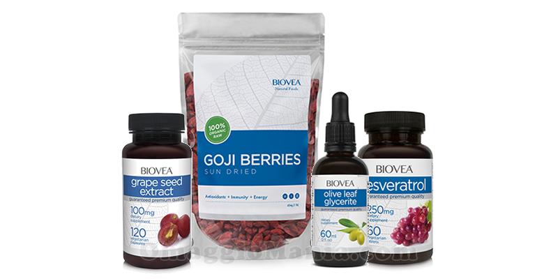 kit prodotti antiossidanti Biovea