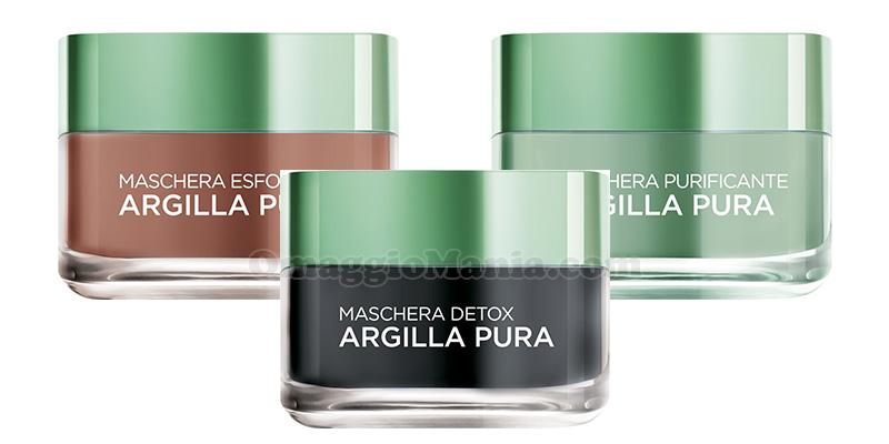 maschere Argilla Pura L'Oréal