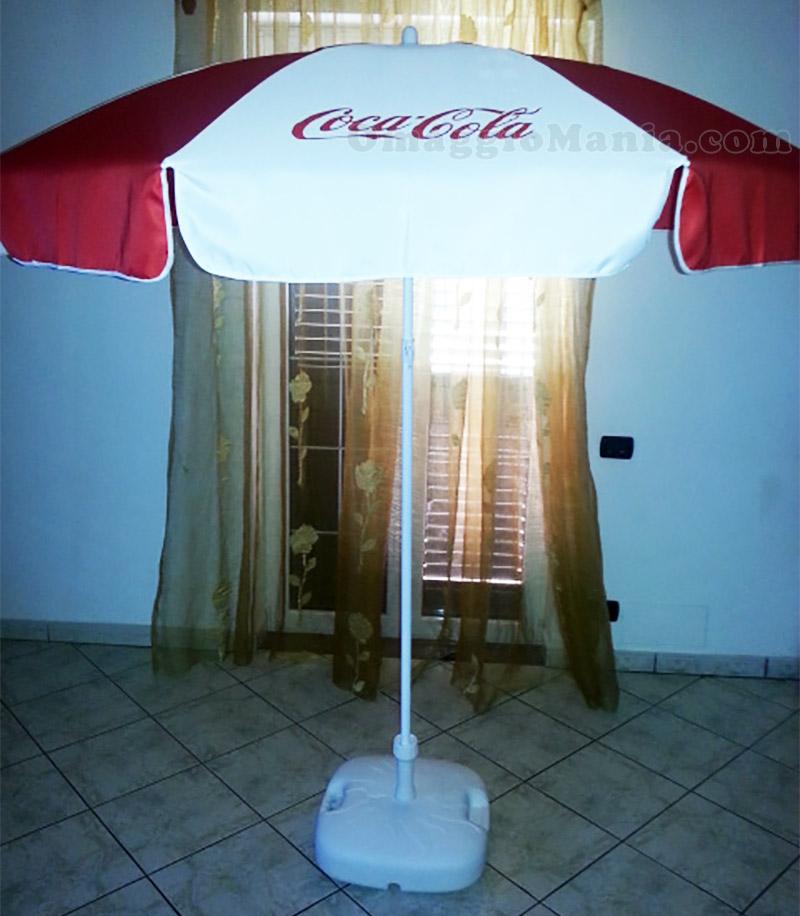 ombrellone Coca Cola vinto da Sabry77