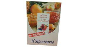 ricettario Cameo Fruttapec