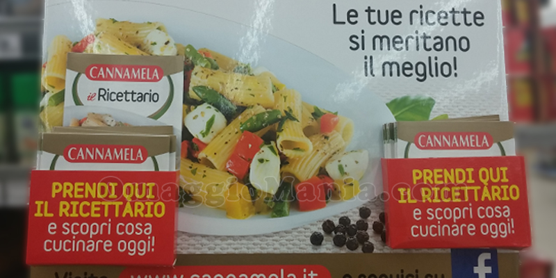 ricettario Cannamela