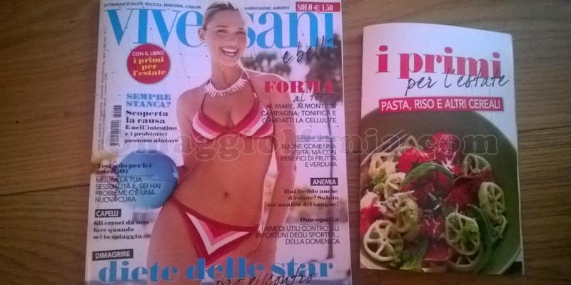 ricettario I Primi dell'Estate omaggio con Viversani e Belli