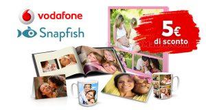 sconto Snapfish premio Vodafone agosto 2016