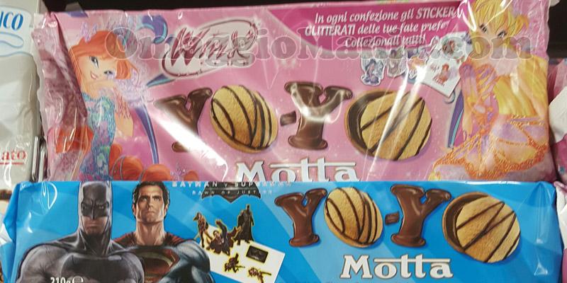 sticker Winx e Batman vs Superman omaggio con Motta