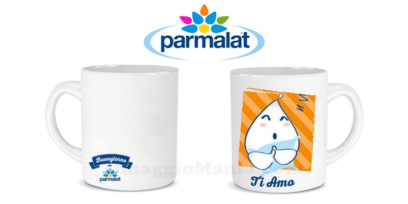 tazze del buongiorno Parmalat personalizzate