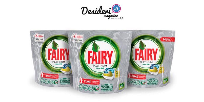 vinci Fairy Platinum Lemon con Desideri Magazine