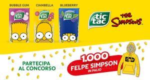 vinci felpe Simpsons con Tic Tac