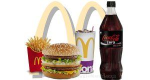Coca Cola Zero omaggio da McDrive McDonald's