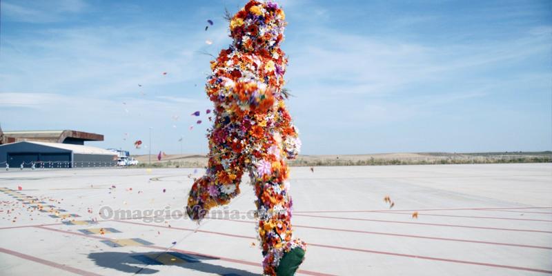 Flower Man easyJet