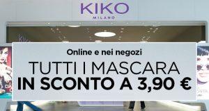 Kiko mascara 3,90€ online e negozi settembre 2016