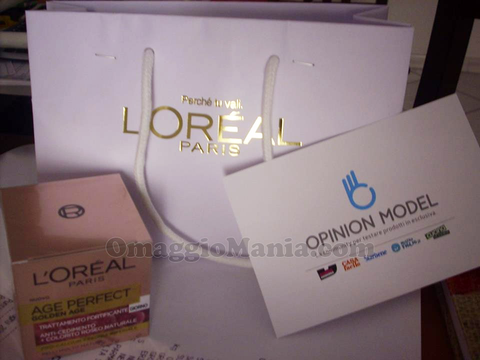 L'Oréal Age Perfect Golden Age di Nadia con Opinion Model