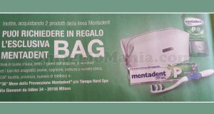 Mentadent Bag omaggio