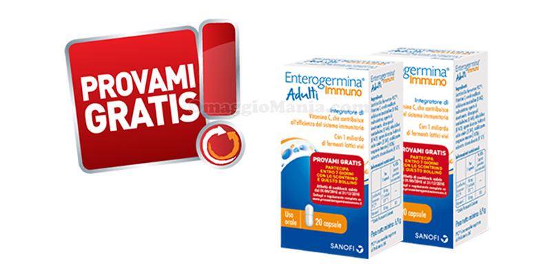 Provami gratis Enterogermina Immuno Adulti Kids