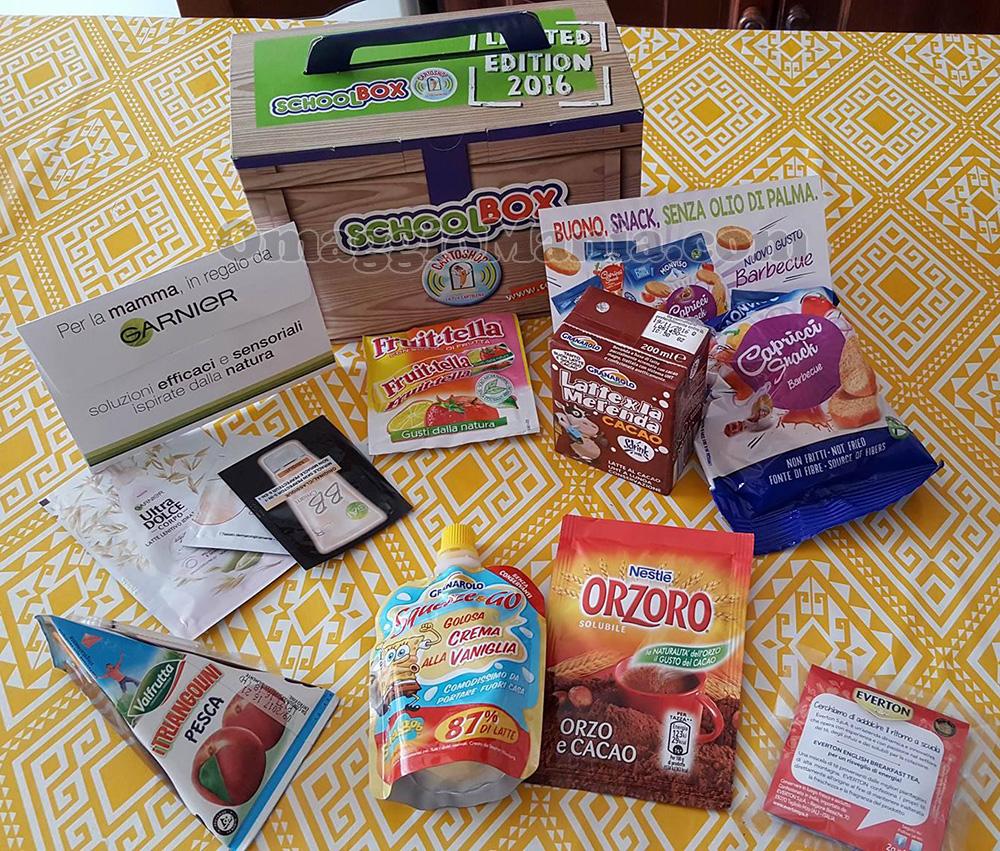 SchoolBox 2016 omaggio di Marilù