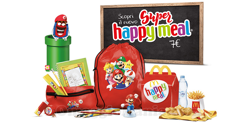 Super Happy Meal di Super Mario