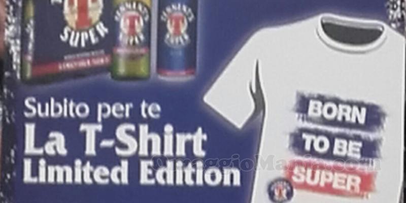 T-shirt Tennent's omaggio