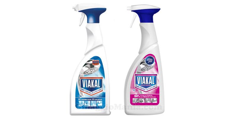 Viakal Spray Classico e Fresco Profumo