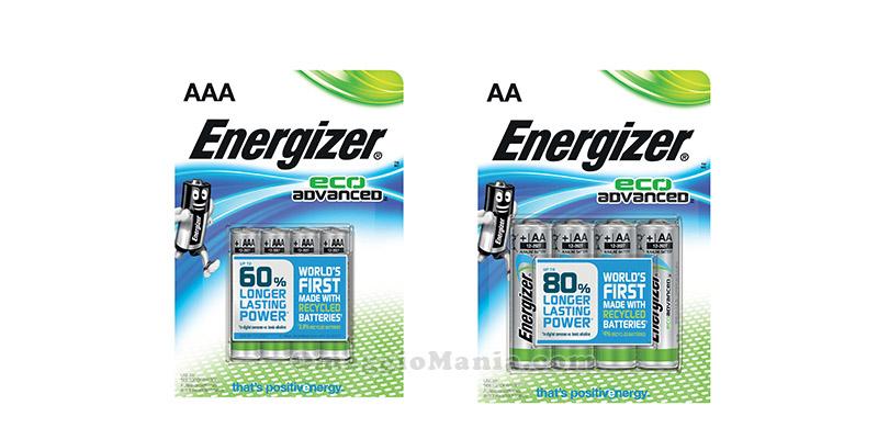 batterie Energizer Eco Advanced