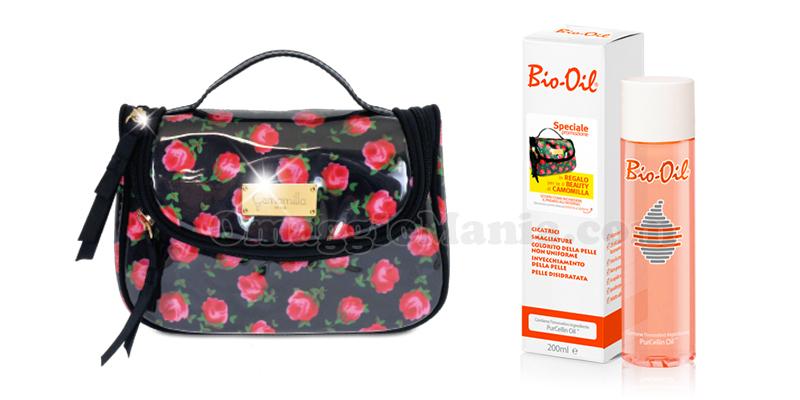 beauty case Camomilla omaggio con Bio-Oil