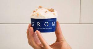 bicchierino degustazione Grom meringata ai marrons glacés