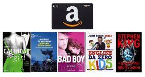 buono Amazon omaggio con Mondadori Libri