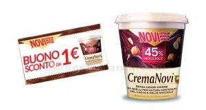 buono sconto Crema Novi 1 euro