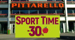 buono sconto Pittarello sport time 30