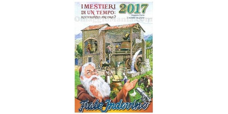 calendario Frate Indovino 2017