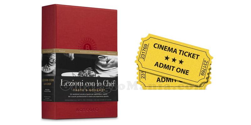 cofanetto Boscolo e biglietti cinema
