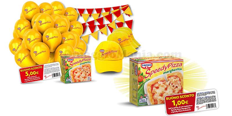 concorso e buono sconto Cameo Speedy Pizza