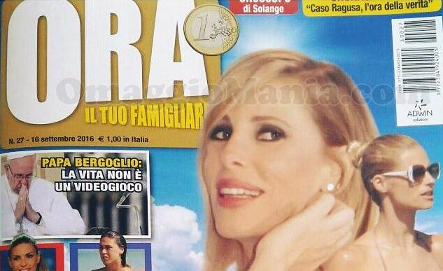 copertina della rivista Ora