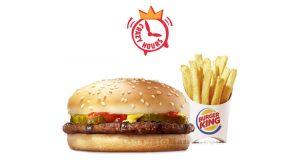 coupon Burger King Crazy Hours hamburger e patatine