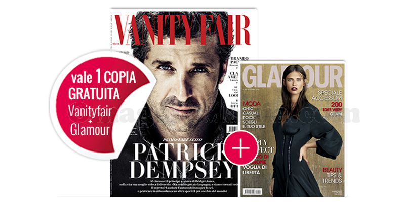 coupon omaggio Vanity Fair 37 e Glamour 292