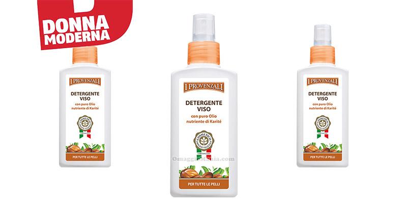 detergente viso I Provenzali con Donna Moderna