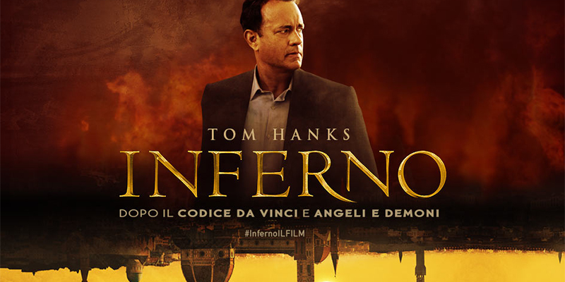 film Inferno con Tom Hanks