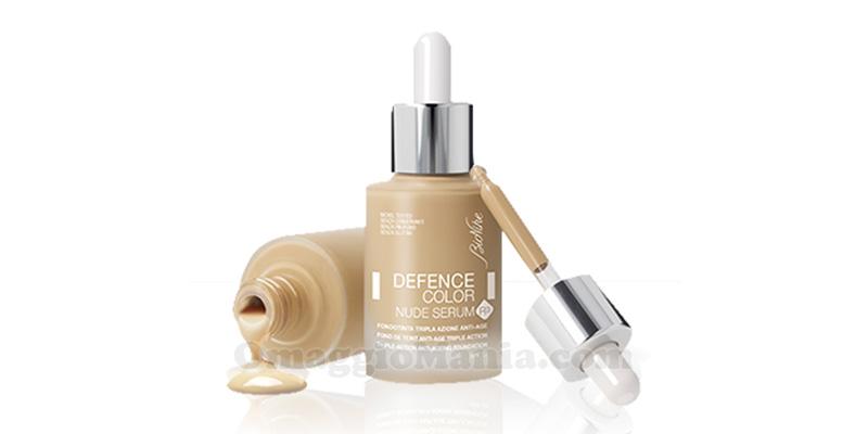 fondotinta BioNike Defence Color Nude Serum