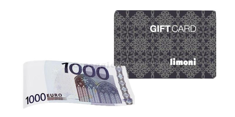 gift card Limoni 1.000 euro