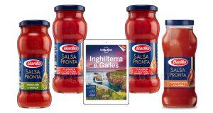 guida Lonely Planet omaggio con Barilla Salsa Pronta
