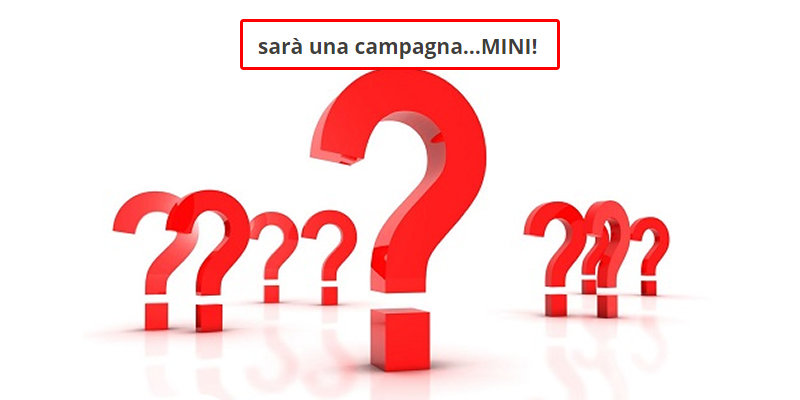 indizio campagna Mini The Insiders