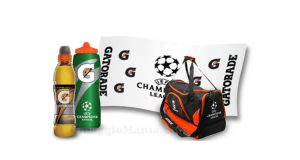 kit Gatorade con Mediaset Fai la differenza