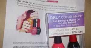 kit Orly Color Amp'd di Nadia con Cosmopolitan