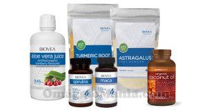 kit prodotti biologici Biovea settembre 2016