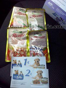 kit prodotti omaggio e coupon Club Amici di Life di Mariella