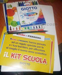 kit scuola Giotto di Ely