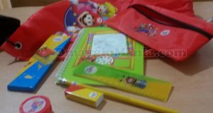 kit scuola Super Mario & Friends McDonald's di Lisa